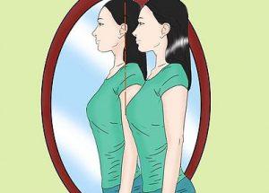 analisar em frente ao espelho